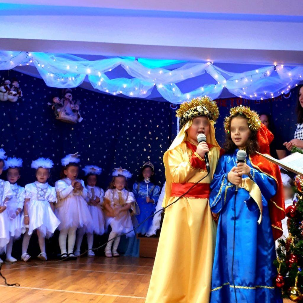 χριστουγεννιάτικη γιορτή - παιδικός σταθμός Καράτζιου